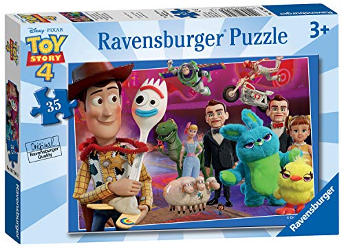 Ravensburger-8796 Ravensburger Disney Pixar Toy Story 4, 35 Piezas Rompecabezas, Multicolor (08796)