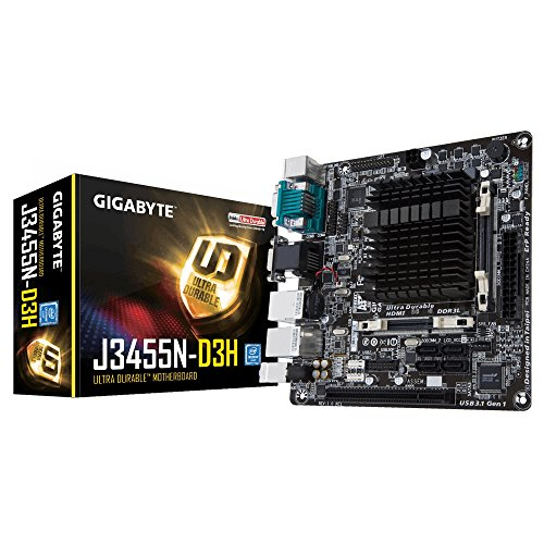 Gigabyte GA-J3455N-D3H Mainboard Schwarz