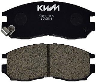 KWM ブレーキパッド KBP2019 シャリオ N33W,38W,48W レグナム EA1W,EA4W,EA5W,EA7W,EC4W,EC7W,EC1W,EC7W,EC5W リベロ CD5W,CD8W ランサー CK4A,CK6A,CM5A ...