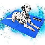 Large Dog Cooling Mat (Blue) | Keeps your larger pets cool & calm