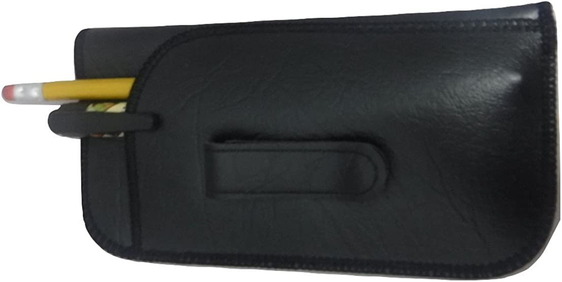 Revenge of the Nerds - Pocket Clip Eyeglass case with Pouch (black)