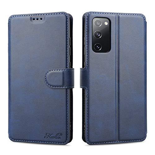 Keallce für Samsung Galaxy S20 FE/S20 Lite (5G) Hülle, Handy Lederhülle PU Leder Hülle Brieftasche Handytasche Cover Kompatibel für Samsung Galaxy S20 FE/S20 Lite (5G) Ledertasche-6.5