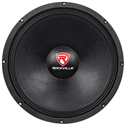 "Rockville 1500w 15"" Raw DJ Subwoofer 4 Ohm Sub Woofer 70OZ Magnet, 15 inch (RVW1500P4)"