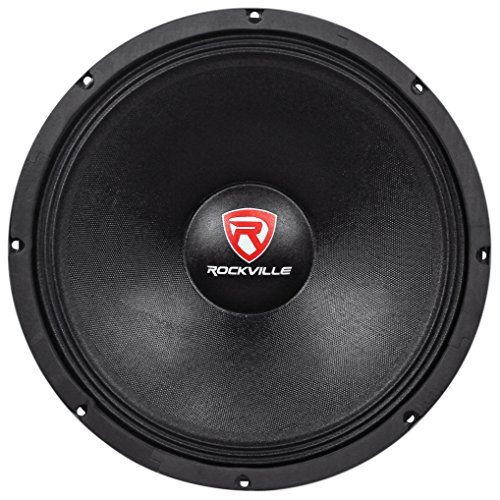 "Rockville 1500w 15"" Raw DJ Subwoofer 4 Ohm Sub Woofer 70OZ Magnet, 15 inch (RVW1500P4)"