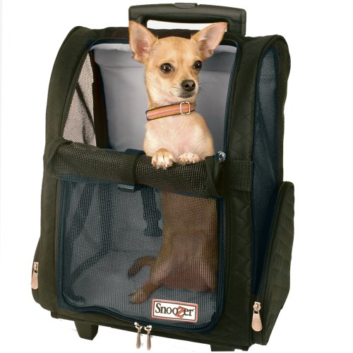 Snoozer Roll Around 4-in-1 Pet Carrier, Khaki