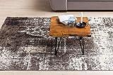 WOHNLING Design:ouchtisch MAHILO Massivholz Tisch Baumkante 56 x 38 x 51 cm | Sheesham Holztisch mit Metallbeinen | Wohnzimmertisch im rustikalen Landhausstil - 5