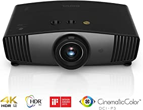 BenQ HT5550 True 4K UHD Home Theater Projector with HDR-PRO | 100% DCI-P3 & 100% Rec. 709 for Best Colors | Frame Interpolation for Fluid Picture