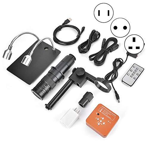 60Fps 2K 34Mp 1080P USB Industrielles elektronisches digitales Videomikroskop zur Reparatur der Handy-CPU-Platine(EU)