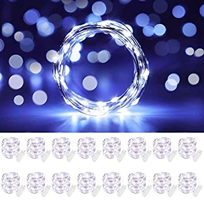 Cooo 16 Pack Led Fairy Lights Battery Operated ...