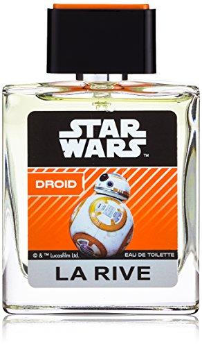 La Rive Star Wars Droid Parfüm EDT Eau de Toilette Kinder Jungen, 2er Pack (2 x 50 ml)