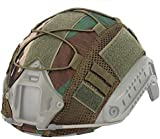 ATAIRSOFT Tactical Airsoft Paintball Military Hunting Helmet Cover Nylon Cloth for BJ/PJ/MH Fast Helmets