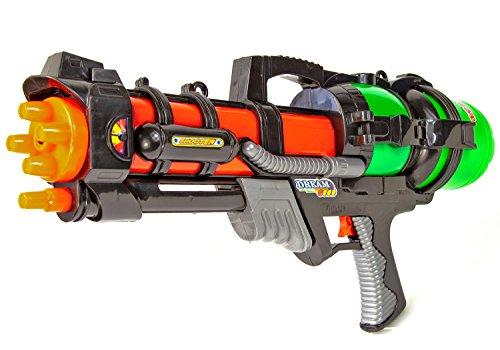 Nick and Ben Wasser-Pistole XXL 60 cm Water Blaster Shooter Gewehr Pool-Kanone Kinder-Spielzeug Sommer Strand und Garten Ausrüstung