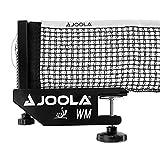 JOOLA Tischtennisnetz TT-Netzgarnitur WM ITTF Zulassung für Wettkämpfe - Höhenverstellbar mit Feststellschraube, Schwarz, 183 CM x 15,25 CM