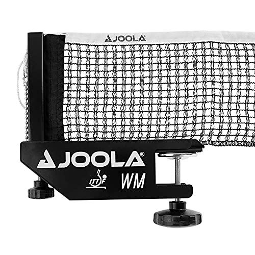 JOOLA Unisex– Erwachsene TT-Netzgarnitur WM Tischtennisnetz, Schwarz, 152cm