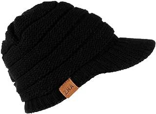 AMSKY Jacket for Women,Adult Women Men Winter Crochet Hat Knit Hat Warm Baseball Cap,Visors