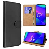 SDTEK Case Compatible with Oppo A5 (2020) Leather Wallet