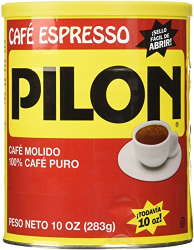 Cafe Pilon Espresso Ground Coffee 10 Ounce Can