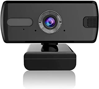 Full HD 1080P Web Camera,USB PC Computer Webcam with Microphone 110° Wide View Angle Compatiable for Gaming Conferencing Laptop Desktop