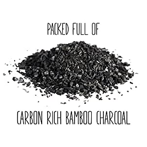 Refrigerator Deodorizer and Air Freshener Made with Carbon Activated Bamboo Charcoal - Fragrance Free, Non-toxic, Safe Near Foods and Liquids - Food Saver