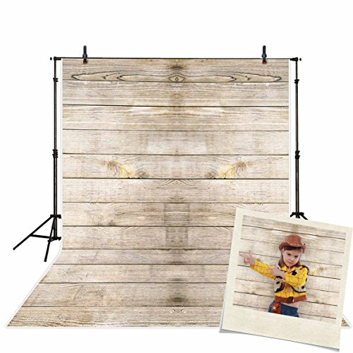 Funnytree Vinyl Wood Photography Background Backdrops Wooden Board Child Baby Shower Party Decor Photo Studio Prop Photobooth Photoshoot 3x5ft