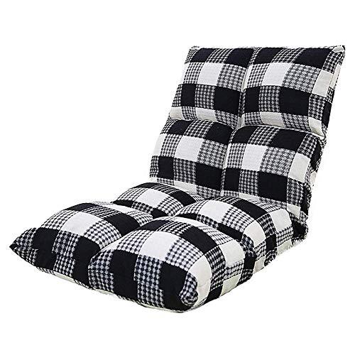 WYBFZTT-188 Sofá Perezoso, vago Acolchonadas Plegable reclinable como Silla de Lectura de...