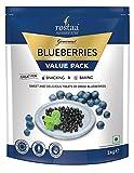 Rostaa Value Pack, Blueberries, 1kg (Gluten Free, Non-GMO & Vegan)