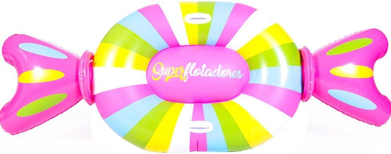 Rangée Flottante Gonflable De Sucrerie Créative - Radeau Flottant Gonflable De Piscine Adulte pour Enfants - Approprié Au Flotteur De Piscine D'anneau De Fête