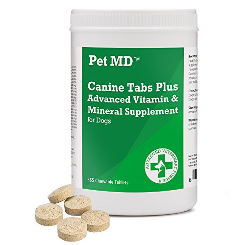 Pet MD - Canine Tabs Plus Advanced Multivitamins for Dogs