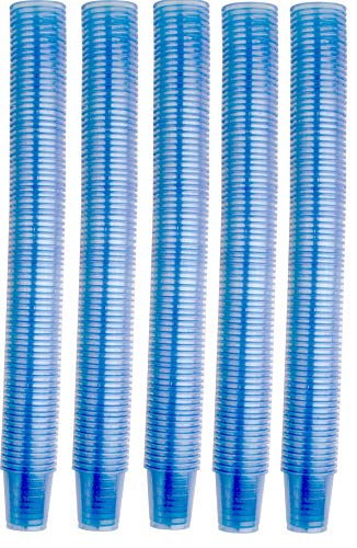 4800 Piezas Vasos para Medicinas Recipiente para Medicinas Vaso de Chupito Premium Diferentes Colores de Medi-Inn - Azul