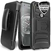 "Google Pixel XL 5.5"" Case, Dual Layer Hybrid Shock Absorbing Resist Rugged Kickstand Armor Case With Belt Clip Holster For Google Pixel XL 5.5"