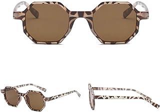 86d880c248 WSKPE Gafas De Sol,Hexagonal Pequeño Polígono Mujeres Gafas De Sol Gafas De  Sol Gafas