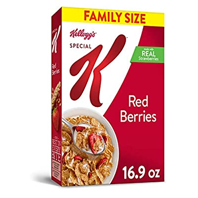 Special K Breakfast Cereal Red Berries, 16.9 oz