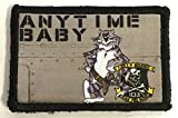 f14 patch - F14 Tomcat Anytime BabyMorale Patch. Perfect for your Tactical Military Army Gear, Backpack, Operator Baseball Cap, Plate Carrier or Vest. 2x3