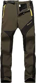 WANPUL Pantalon Softshell Mujer Pantalones de Montaña