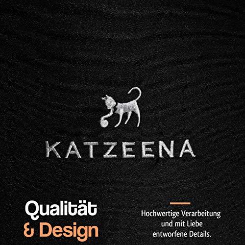 KATZEENA –  Kuschelhöhle | Premium Katzenbett | Waschbare Katzenhöhle | Kuschelhaus für Haustiere - 5