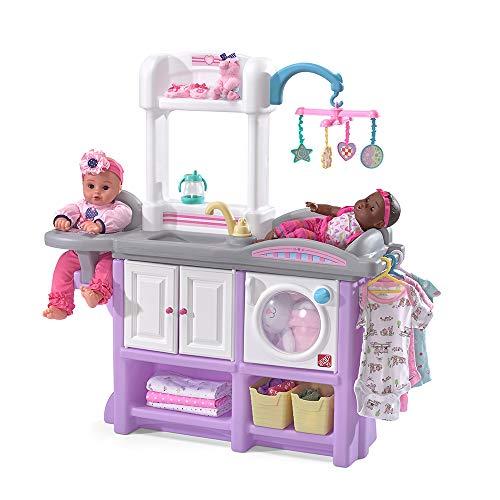 Step2 Love & Care Deluxe Nursery Kids Playset, Purple