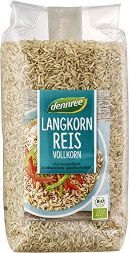 dennree Langkornreis, natur (1 kg) - Bio