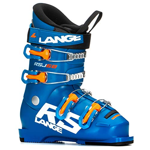 Lange Kinder RSJ 60 Skischuhe blau 22.5