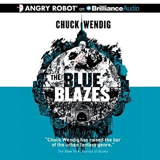 The Blue Blazes audiobook cover art