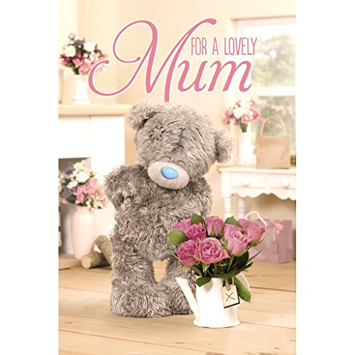 Me to You Tatty Teddy 3D Holografische Mother 's Day Card–für A Lovely Mum