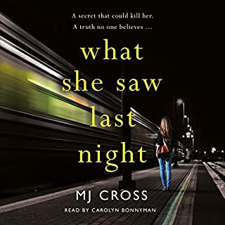 What She Saw Last Night                   By:                                                                                                                                 Mason Cross                               Narrated by:                                                                                                                                 Carolyn Bonnyman                      Length: 10 hrs and 17 mins     Not rated yet     Overall 0.0