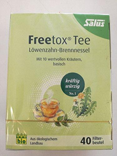 Freetox® Löwenzahn-Brennnessel Kräutertee bio (72 g)