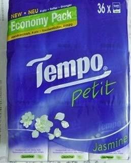 Tempo Pocket Tissues x 36pcs Jasmine Petit