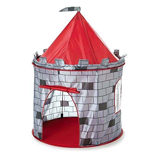 Tienda de juegos con diseño de castillo