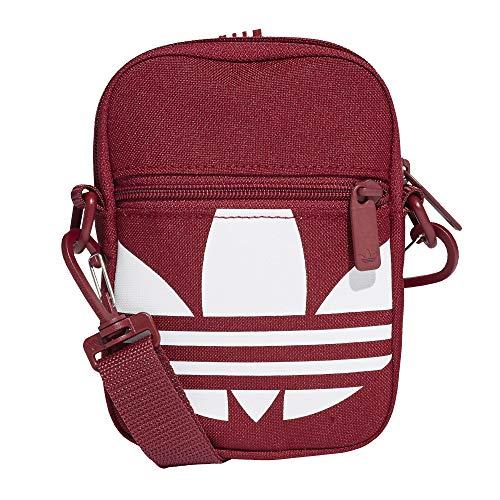 adidas Festival Trefoil Mini Bag Tasche (one Size, Burgundy)