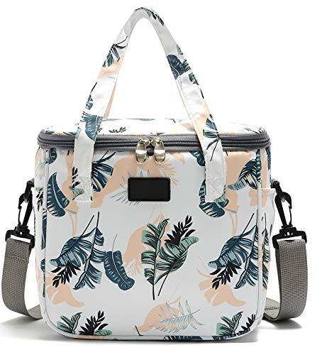Yvonnelee Kühltasche 9L, Picknicktasche Kühlbox Lunch Tasche, isolierte für Lebensmitteltransport, Schule Büro Arbeit Outdoor Camping Reisen