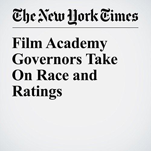 Film Academy Governors Take On Race and Ratings audiobook cover art
