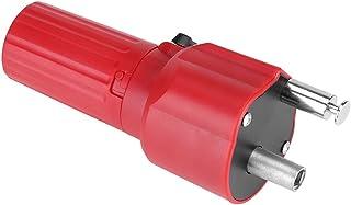 Fdit Motor para Barbacoa 1.5 V Construcción Sólida Barbacoa Rotator Motor Asado Barbacoa BBQ De Color Rojo