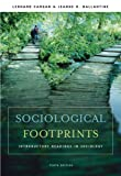 Sociological Footprints: Introductory Readings in Sociology