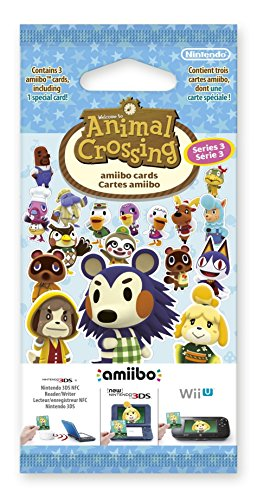 Paquet de 3 Cartes : Animal Crossing - série 3 (1 Carte + 2 Standard)